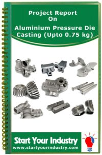 Project report on Aluminium Pressure Die Casting (Upto 0.75 kg)