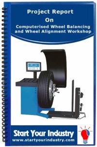 Project Report on Computerised Wheel Balancing and Wheel Alignment Workshop