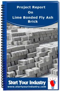 Project report on Lime Bonded Fly Ash Brick