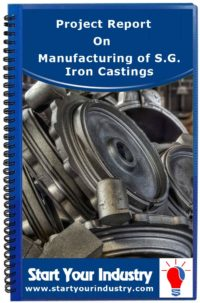 Project Report on Manufacturing of S.G. Iron Castings