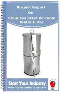 Project Report on Stainless Steel Portable Water Filter