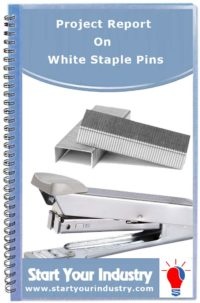 Project Report on White Staple Pins